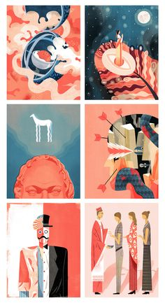 Six Illustrations I did for Wissen Rouge issue Graphic Design Illustration, Digital Illustration, Book Design Layout, Grafik Design, Illustrations And Posters, Yolo, Graphic Design Inspiration, Art Inspo, New Art