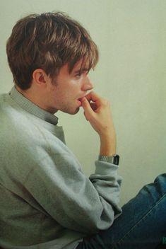 """Damon Albarn for Japan's Music Life magazine, "" Jamie Hewlett, Beautiful Boys, Pretty Boys, Blur Band, Declan Mckenna, Aesthetic Beauty, Britpop, Teenager, Music Is Life"