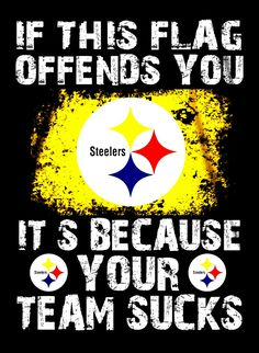 Pittsburgh Steelers It's Because Your Team Sucks Fridge Magnet Size x Pittsburgh Steelers Wallpaper, Pittsburgh Steelers Football, Pittsburgh Sports, Best Football Team, Football Memes, Pitsburgh Steelers, Here We Go Steelers, Steelers Stuff, Steelers Tattoos