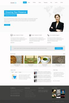 Coroti-Corporate, Joomla Responsive Business Template