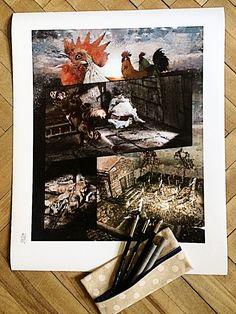 Svatební košile - Marco Turini #komiksovakytice #ceskygrimm #kjerben #svatebnikosile Grimm, Painting, Art, Art Background, Painting Art, Kunst, Paintings, Performing Arts, Painted Canvas