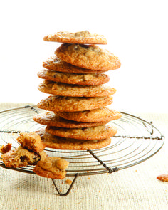 Big Fat Chocolate Chunk Cookies from themom100.com.  These are the ones you're craving.