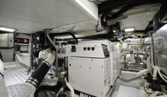 Solaris Yachts 72 DH - Engine Room