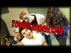 Zombies at a university! Happy Halloween