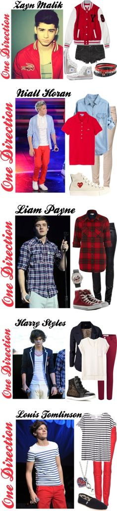 """One Direction 3"" by konstantina1 ❤ liked on Polyvore"