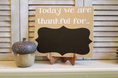 Everyday Thankful by doortwodoor on Etsy, $18.00