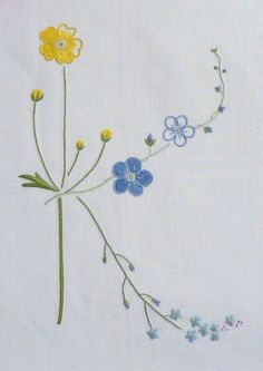 Field flowers alphabet - K   The French Needle   French Needlework Kits, Cross Stitch, Embroidery, Sophie Digard