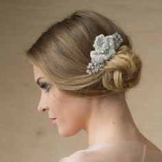 Pedazo de novia pedazo del pelo del cordón tocado de boda
