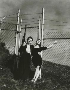David Lynch and Isabella Rossellini by Helmut Newton, 1988