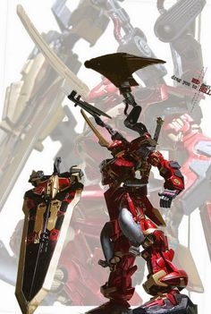 """Custom Build: 1/100 Gundam Astray Blue Frame Second L """"Red Devil"""" - Gundam Kits Collection News and Reviews Astray Red Frame, Gundam Astray, Custom Gundam, Custom Decals, Transformers, Devil, Color Schemes, Artworks, Animation"""