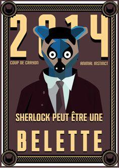 // Sherlock peut être une belette //  #belette #weasel #esprit #animal #espritanimal #animalspirit #spirit #animals #animaux #graphisme #vectoriel
