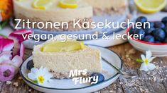 Zitronen Käsekuchen - vegan, gesund  lecker Sweets Recipes, Desserts, Low Carb Cheesecake, Nice Cream, Smoothie Bowl, Vanilla Cake, Sweet Treats, Clean Eating, Good Food