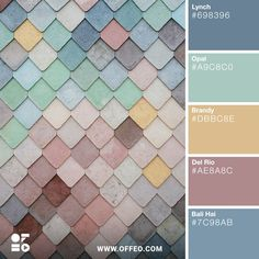 20 Soft Pastel Spring/Summer Color Palettes | OFFEO