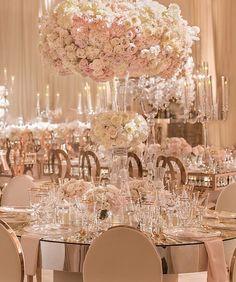 A beyond extravagant #receptiondecor!
