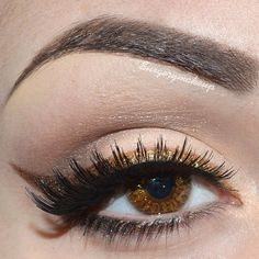 Bronze glitter liner #eye #eyes #makeup #eyeshadow #smokey #dramatic #metallic
