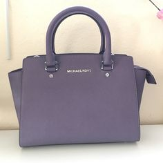 NEW MK Selma MED satchel bag New with tags never worn color is wisteria good material real leather new with dust bag no trades please open to reasonable offers  MICHAEL Michael Kors Bags