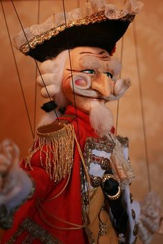 Baron Munchausen - The Venice Marionettes Pool