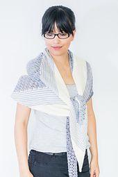 Ravelry: Makariri Shawl pattern by Francoise Danoy