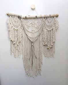 NEW IN SHOP! Extra Large macrame wall hanging, bohemian wall hanging, macrame curtain, macrame decor, boho decor, free shipping in U.S.