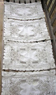 Cutwork lace placemats                                                                                                                                                                                 More