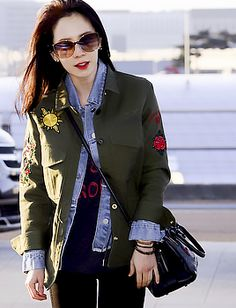 Song Ji Hyo at Incheon Airport going to Taiwan