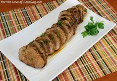 Buttermilk & Herb Marinated Pork Tenderloin