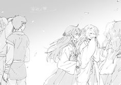 Akatsuki no Yona / Yona of the dawn anime and manga    Tae woo and Lili