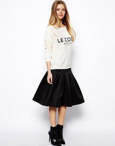 Trend to Try: The Full Midi Skirt | StyleCaster