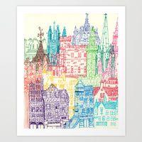 Popular Art Prints | Page 30 of 80 | Society6 Edinburgh Towers by Cheism