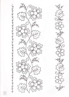 Latest Trend In Embroidery on Paper Ideas. Phenomenal Embroidery on Paper Ideas. Hand Embroidery Patterns, Applique Patterns, Vintage Embroidery, Ribbon Embroidery, Flower Patterns, Cross Stitch Embroidery, Machine Embroidery, Diy Bordados, Parchment Craft