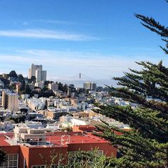City view in San Francisco, California.