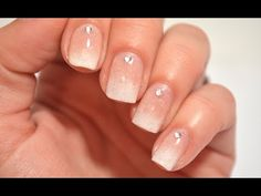 Gradient French Tip Nail Art Tutorial - YouTube