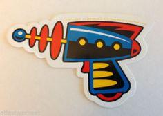 Ray Gun Space Gun Vinyl Sticker Decal Barbarella Jetsons Outer Space Kitsch New…