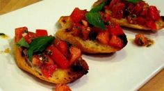 Bruschetta Recipe - Laura in the Kitchen