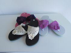 Palm Beach Sandals, Flip Flops, Beautiful, Women, Fashion, Ganchillo, Colors, Moda, Women's