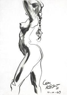 Life Figure Drawing - Glen Keane