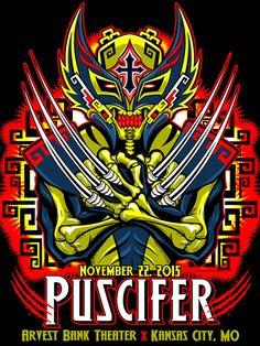 Puscifer Poster Series - Kansas City, MO by Jesse Hernandez