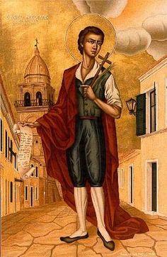 Theofilos Saint Theofilos Greece Painting, Greek Art, Orthodox Icons, Conceptual Art, Saints, Folk, Christian, Fine Art, History