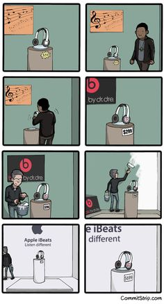 HOW THE BEATS ACQUISITION WILL GO. - Joindarkside