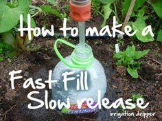 fast fill / slow release