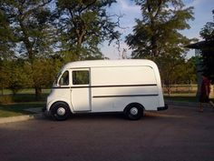 1950 International Harvester Metro – White « Vintage Step Vans