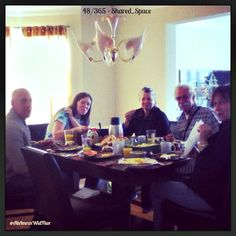#Day48 #projectlife365 #SharedSpace ...The table around which Sunday brunch with Family is enjoyed is always a welcomed #shared_space!! =) 48/365 ~xo~ #2013