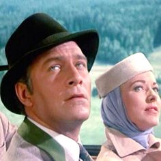 Christopher Plummer and Eleanor Parker in The Sound of Music