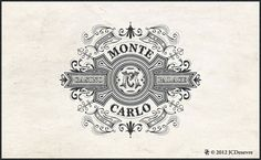 French designer Jean-Charles Desevre specializes in creating beautifully complex logos, emblems and labels