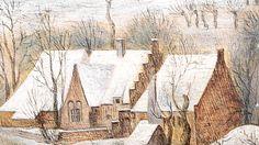Pieter Brueghel II | The Bird Trap | Old Master Paintings