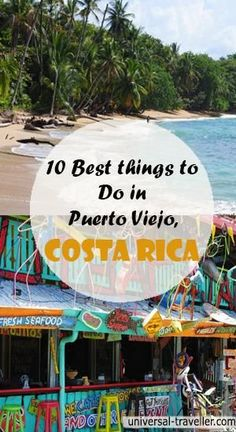 Best Things To Do In Puerto Viejo Costa Rica ~ Great pin! For Oahu architectural design visit http://ownerbuiltdesign.com Ultimate Travel, Central America, Costa Rica Tamarindo, Travel Around The World, Travel Tips, Travel Destinations, Travel Advice, South America Travel, Vacation Spots