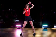 Snapshot: May 30 - Taylor Swift  - Taylor Swift delivers a fiery-red performance on May 30 in Shanghai