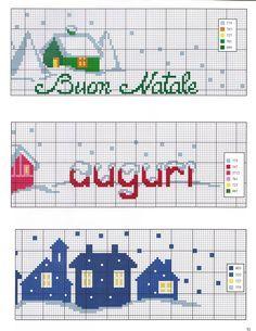 Cross Stitch Boarders, Cross Stitch House, Cross Stitch Designs, Cross Stitch Patterns, Minnie Baby, Animal Skulls, Christmas Cross, Xmas, Dish Towels