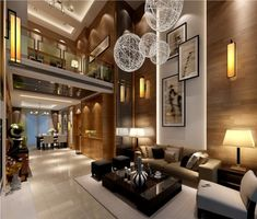 The One Thing to Do for Inspiring Modern Living Room Decoration Home - flipsyourhome Hall Interior, Dream House Interior, Dream Home Design, Modern House Design, Interior Design Living Room, Living Room Designs, Luxury Home Decor, Luxury Interior, Luxury Homes