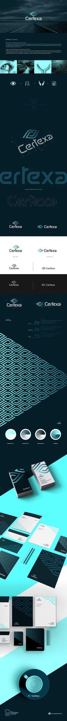 Branding and Visual Identity for Certexa | B21 Branding Studio